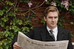 cousin-matthew-crawley-in-downton-abbey1newspaper