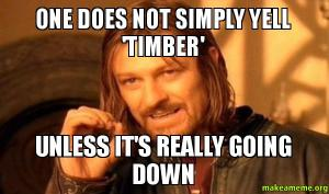 One-does-nottimber