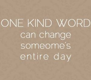 one word kind change day
