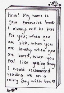 FavoriteBookReading