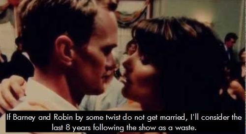 When do barney and robin start dating