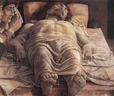 Mantegna_Andrea_lamentation of christ