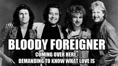 Bloody-Foreigner