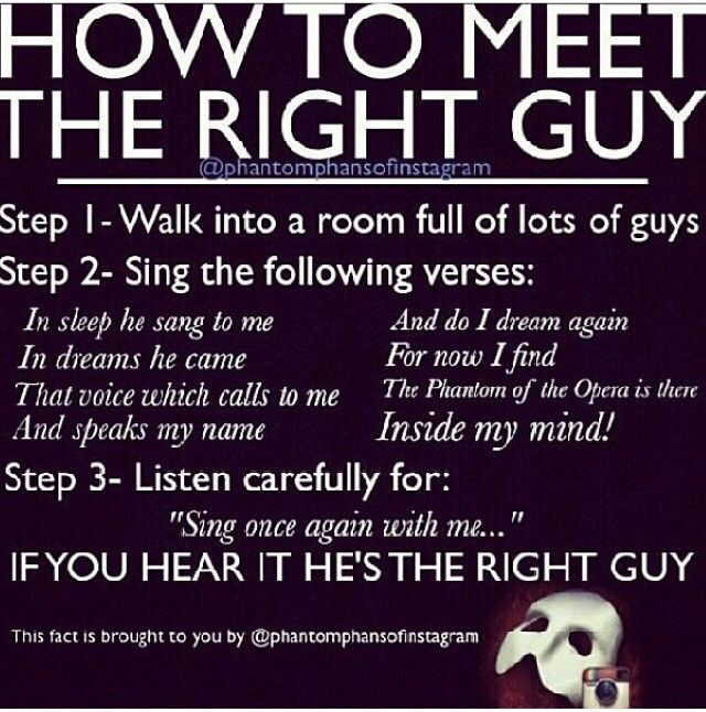How do you meet the right guy