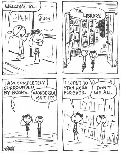 LibraryBooksStayForever