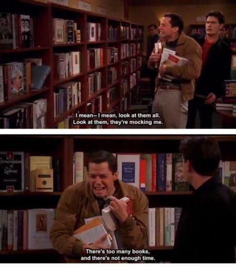 two&halfMentoomanybookstoreadmocking