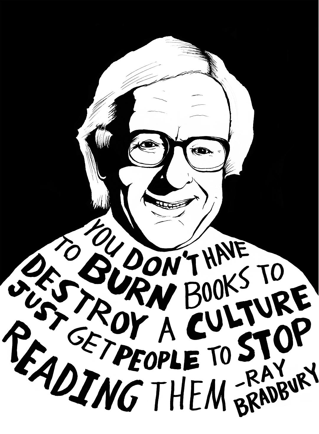 raybradburybooksburnstopreading