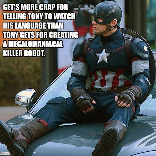 funny-Captain-America-car-Ultron-sad