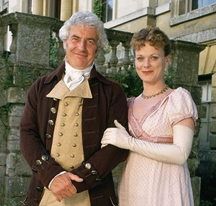 Mandatory Credit: Photo by ITV / Rex USA ( 525489SJ ) James Hazeldine and Samantha Bond in 'Emma' - 1996 ITV ARCHIVE